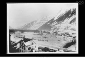 Le stade olympique des jeux de Chamonix