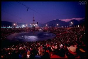Aperçu de la cérémonie de clôture. Source: http://olympic.org