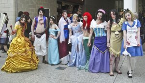Personnages de Disney version zombies  source