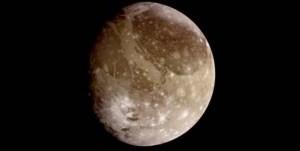 Ganymède. Source: NASA