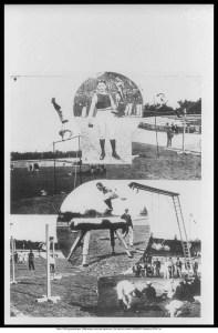 Montage des épreuves de gymnastique. Source: olympic.org